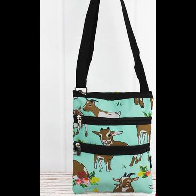 Giddy Goats Crossbody Bag