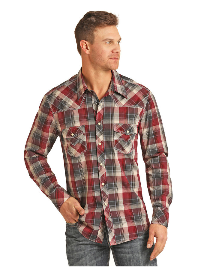 Men's Western Shirt B2S3082