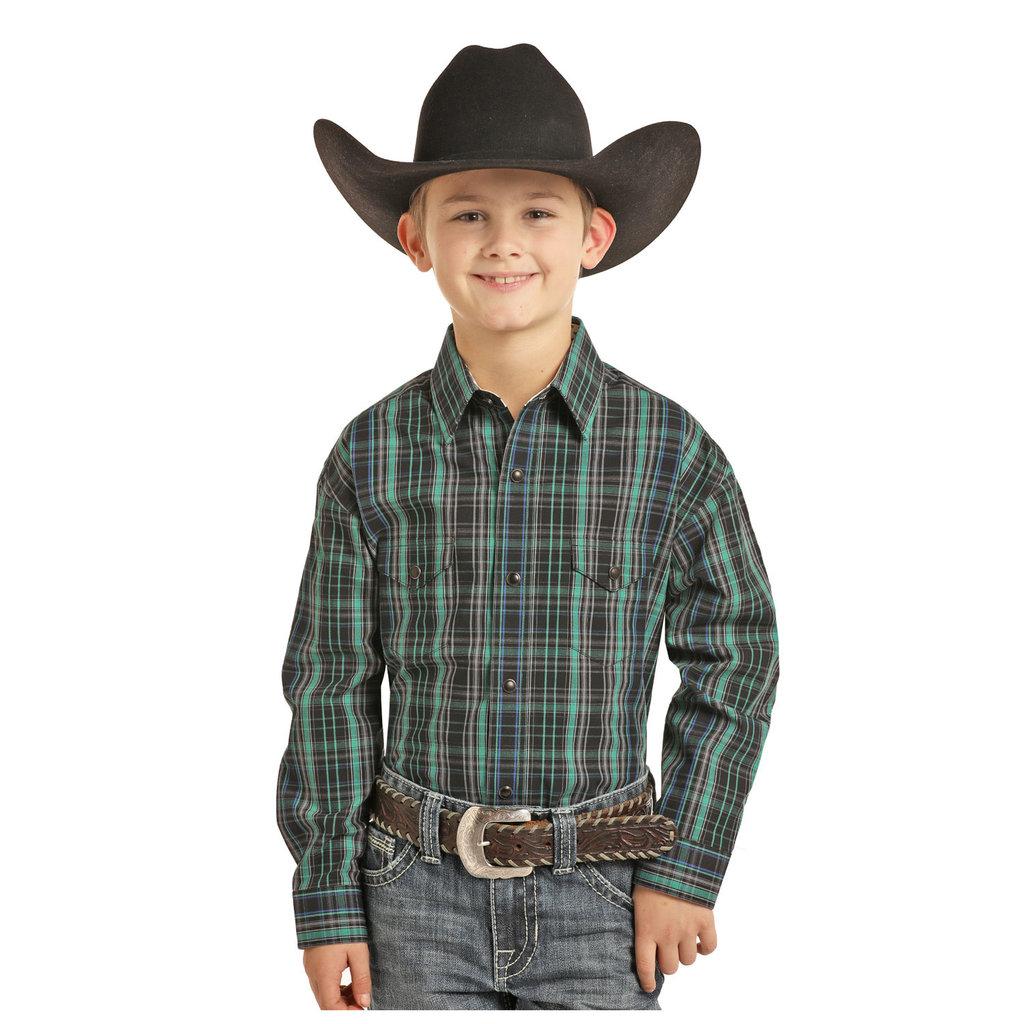 Panhandle Slim Kid's Western Shirt C0S3250