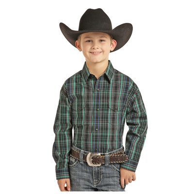 Panhandle Slim Kid's Western Shirt C0S3250