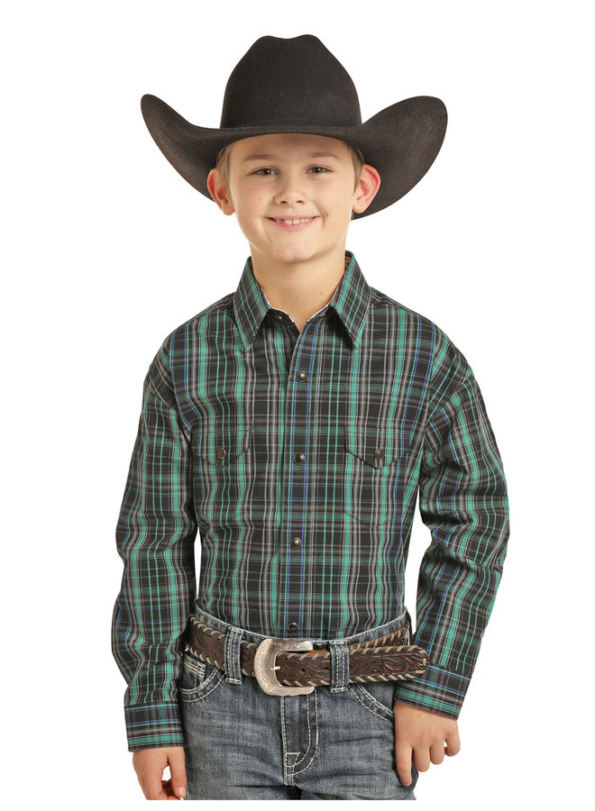 Kid's Western Shirt C0S3250