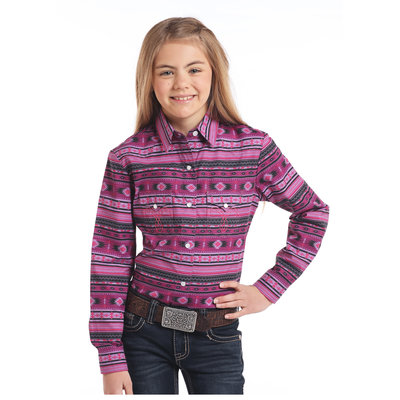 Panhandle Slim Kid's Western Shirt C6S3757