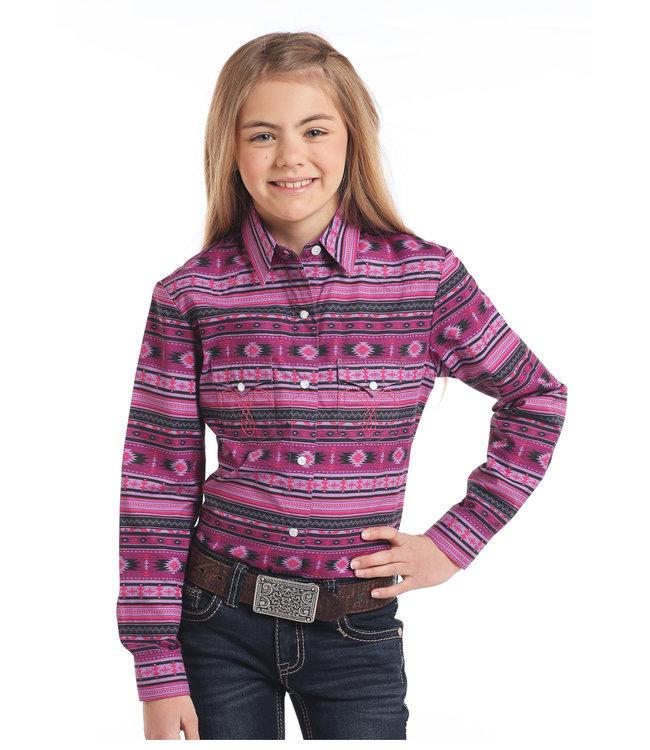 Panhandle Slim Kid's Western Shirt C6S3757