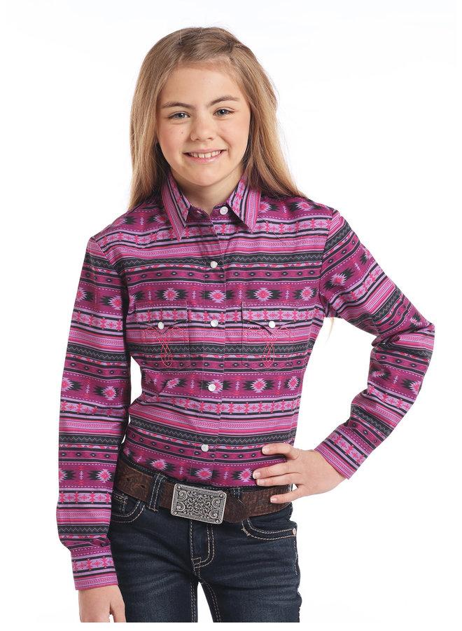 Kid's Western Shirt C6S3757