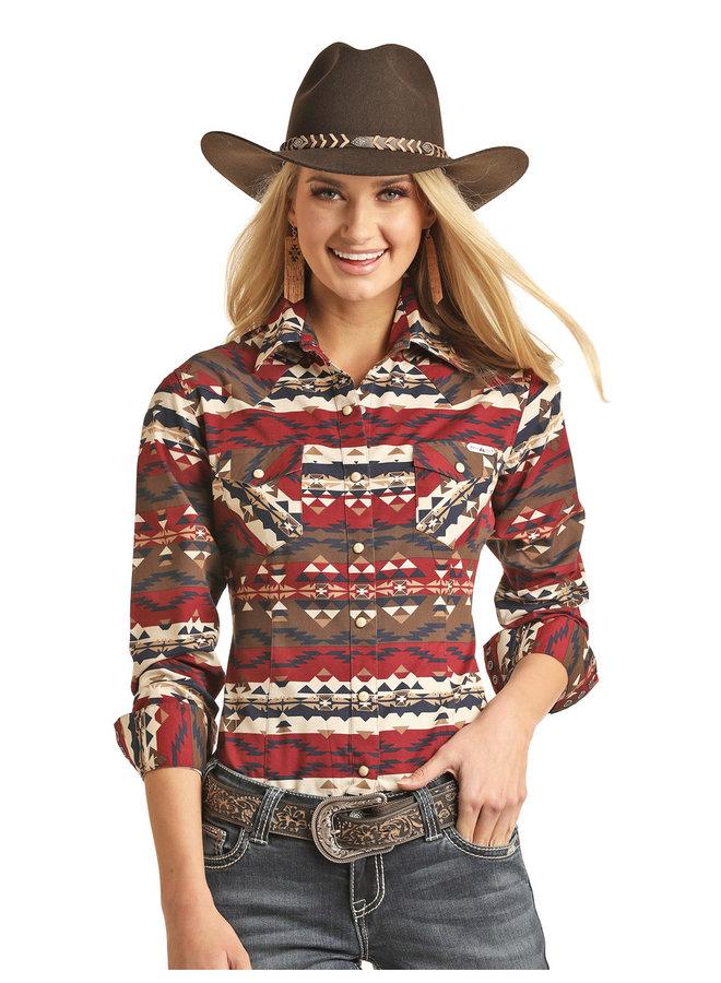 Ladies Western Shirt 22S3038