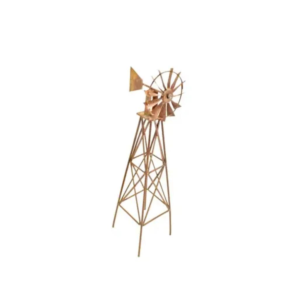 Wire Rusty Desktop Windmill
