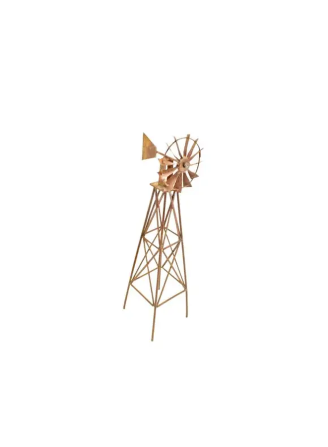 Wire Rusty Desktop Windmill