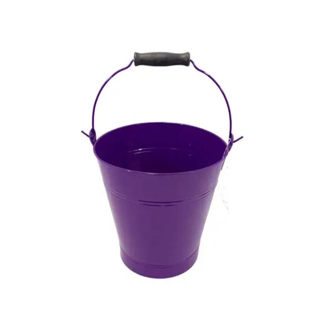 Purple Enamel Pail