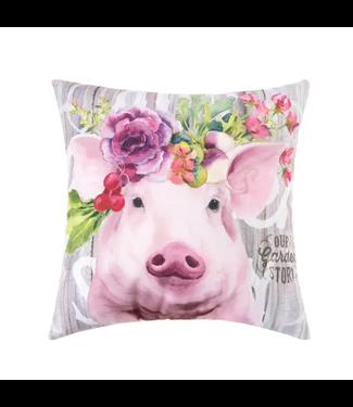 Garden Story Pig Pillow