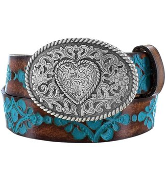 Justin Kids' Turquoise Hope Belt