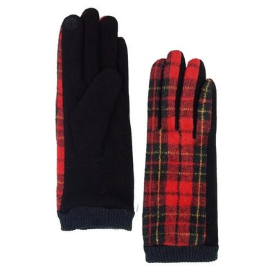 Smart Touch Plaid Glove