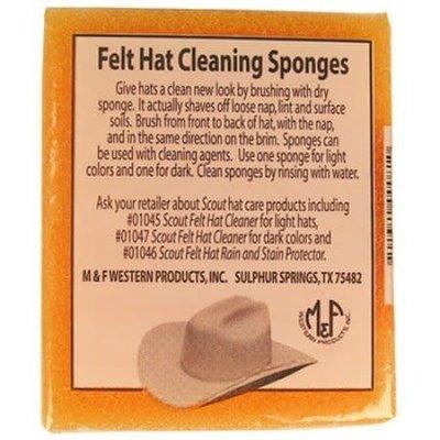Bullhide Felt Hat Cleaning Sponge 2 Pack