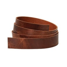 "Weaver 1 1/4"" Belt Blank - Antique Brown"