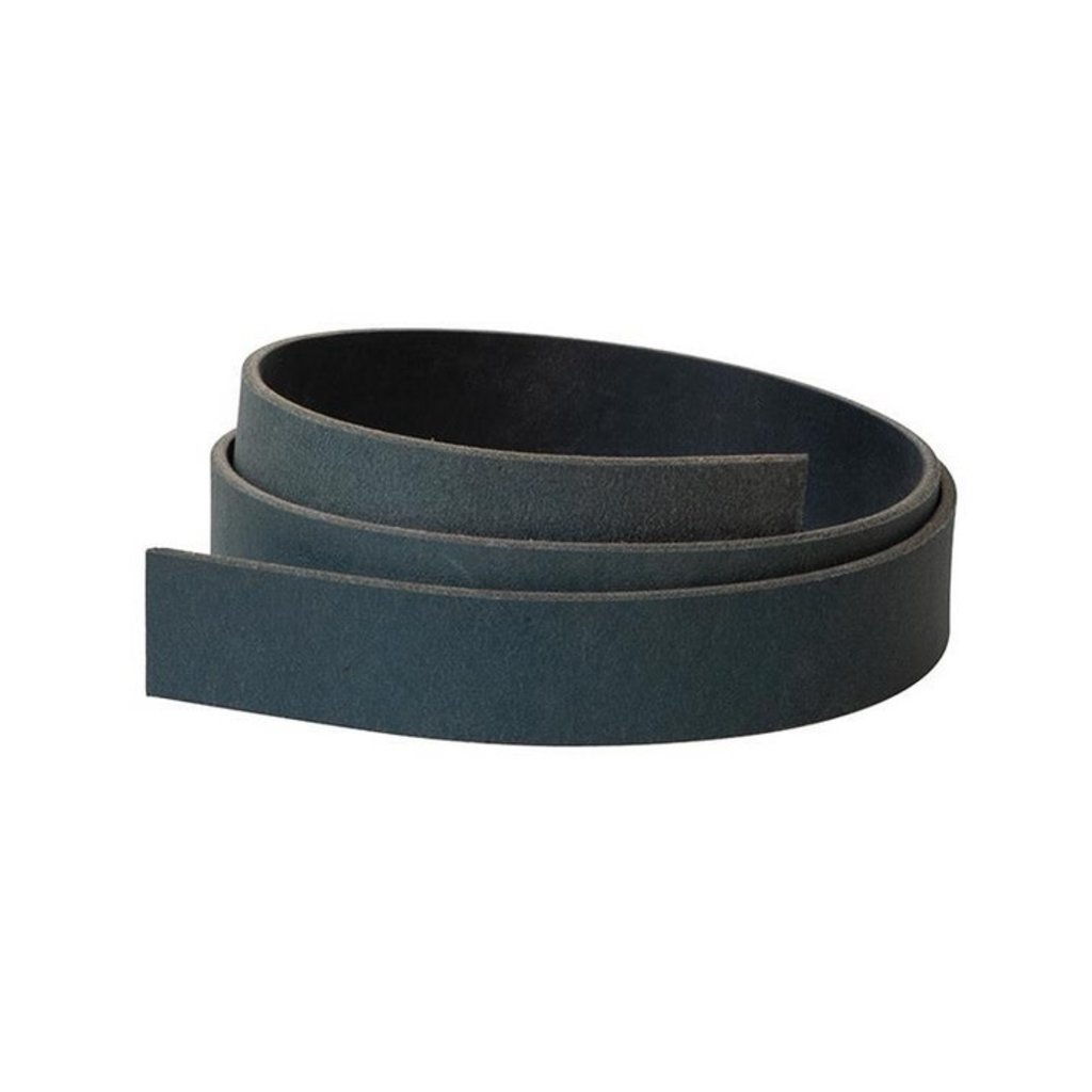 "Weaver 1 1/4"" Belt Blank - Matte Black"