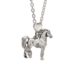 Proud Standing Horse Necklace