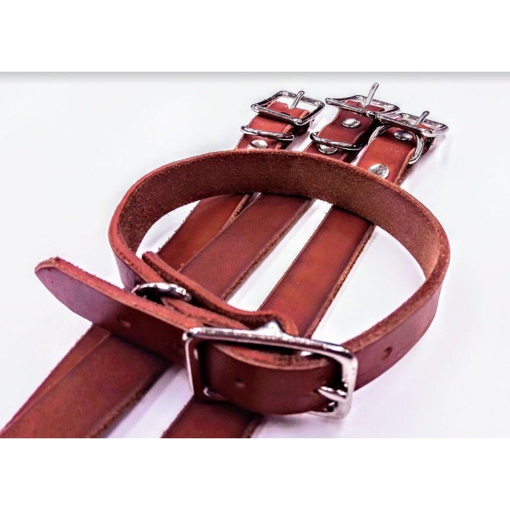 Beyond the Barn All Leather Dog Collar BTB