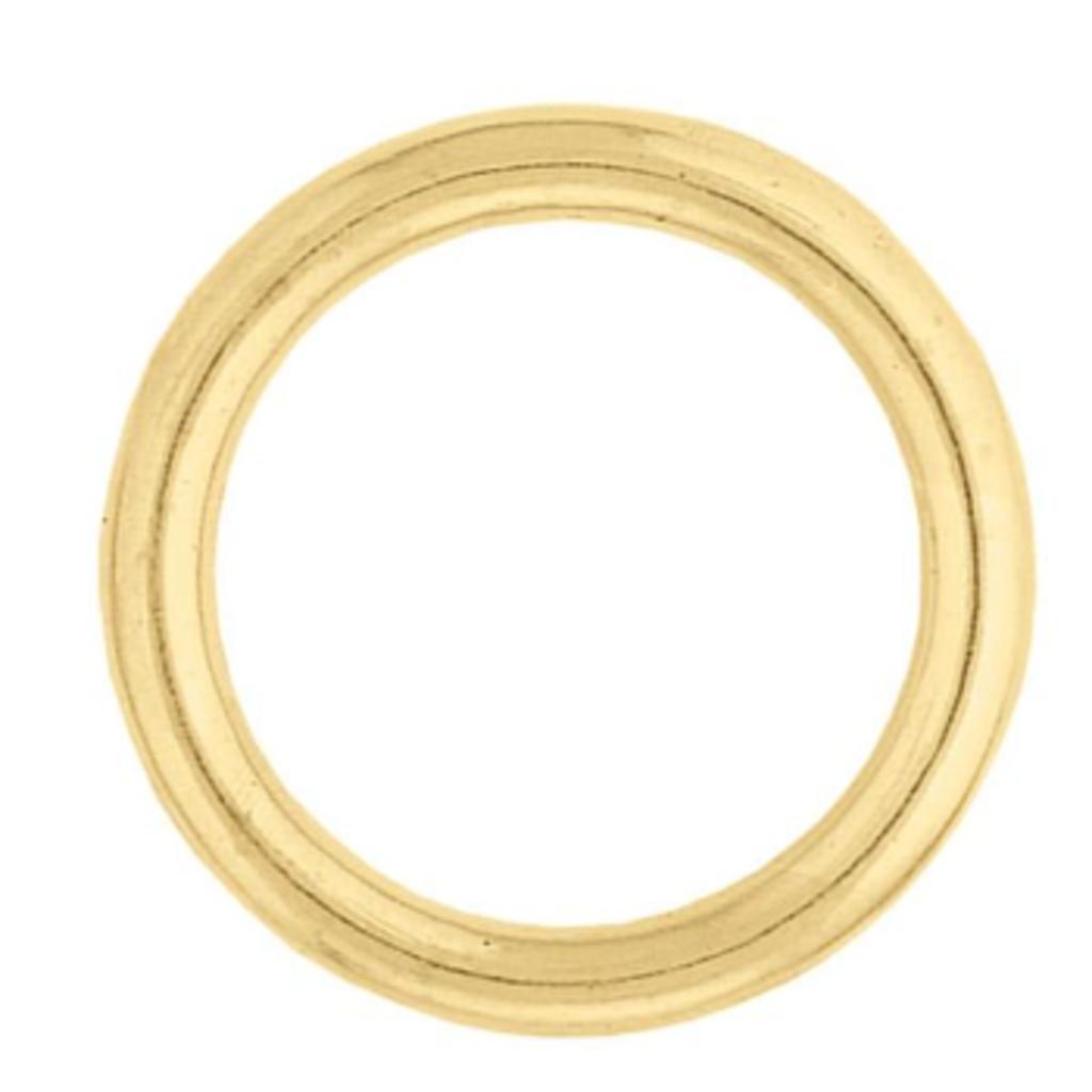 "1"" Brass Plate O Ring #7"