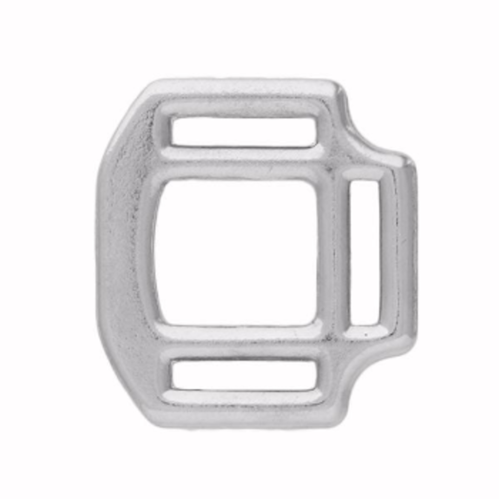 "Weaver Z1982 3-Sided 1"" NP Halter Square"