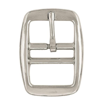 "Weaver Double Bar Buckle Z162 3/4"" NP"