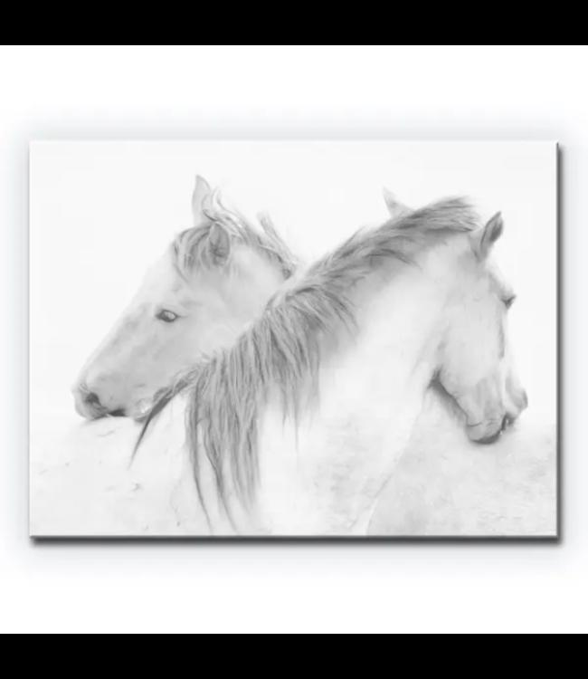 Horses Canvas Wall Decor 20x30