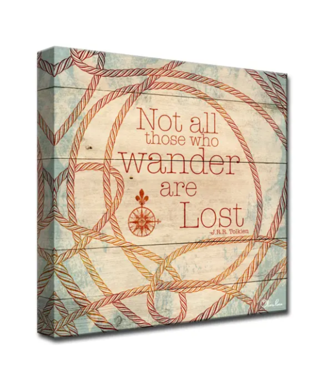 Wander by Olivia Rose Canvas Art 16x16