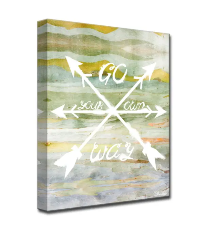 Your Way by Olivia Rose Canvas Art 20x16