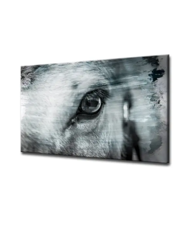 Equestrian Saddle Ink XII ArtPlexi 16x24
