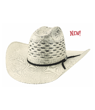 PBR RidePass 25X Natural/Black Straw Hat