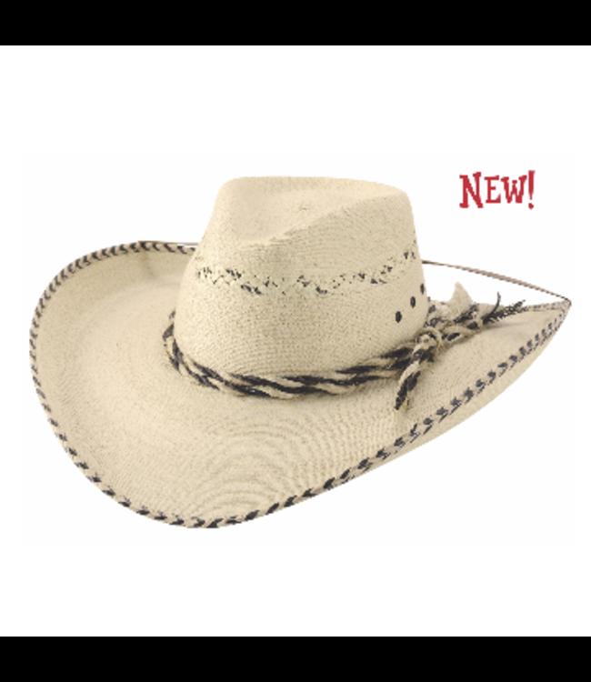 Bullhide Scottsdale Straw Cowboy Hat