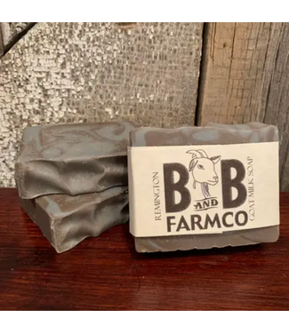 B&B FarmCo Remington Goat Milk Soap