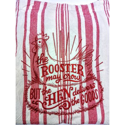 Beyond the Barn Embroidered Kitchen Apron BTB