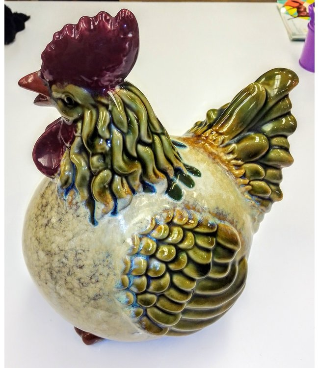 Beyond the Barn Handsome Ceramic Rooster