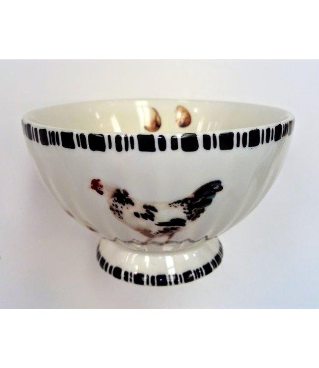 Beyond the Barn Ceramic Chicken Bowl