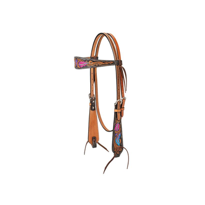 Weaver Twisted Feather Headstall