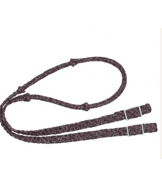 Reflective Cord Knot Barrel Rein