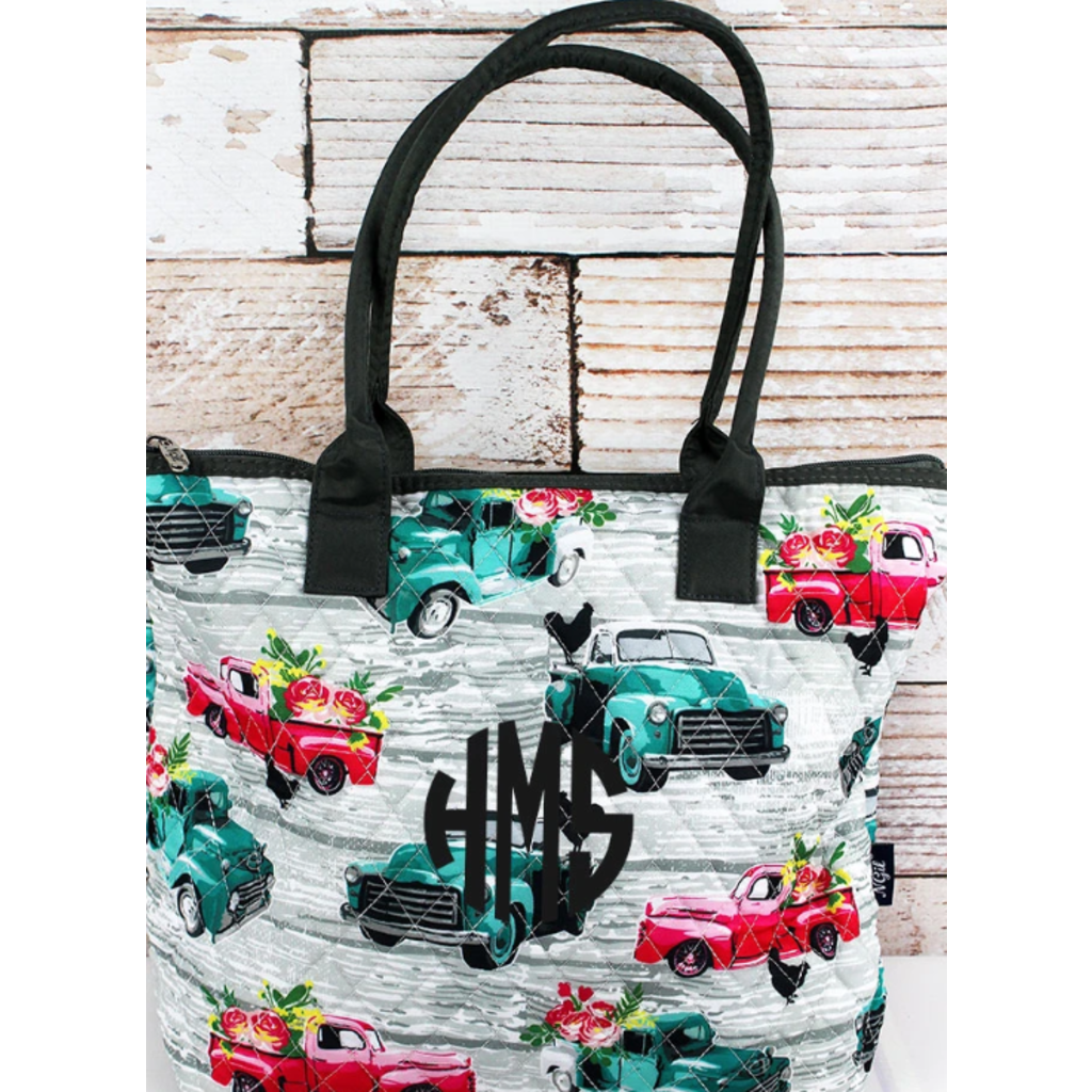 NGIL From The Farm Quilted Shoulder Bag