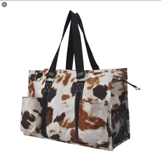 NGIL Till The Cows Come Home with Black Trim Tote Bag