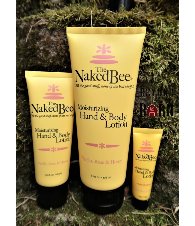 The Naked Bee Hand & Body Lotion 2.25oz