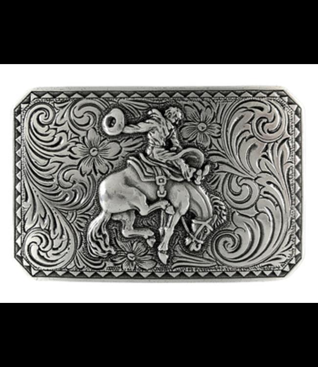 HA0150 LASRP Bronco Rider Cowboy Belt Buckle