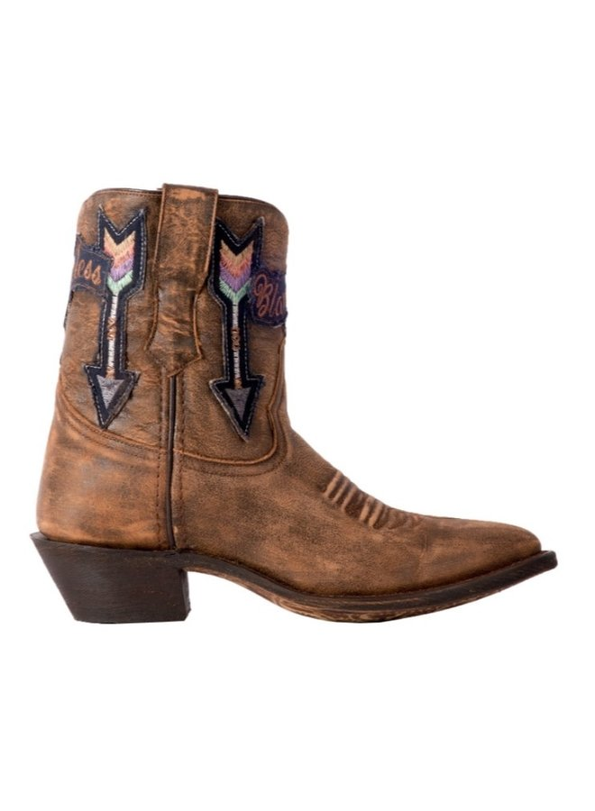 60 Radical Distressed Brown Short Boot