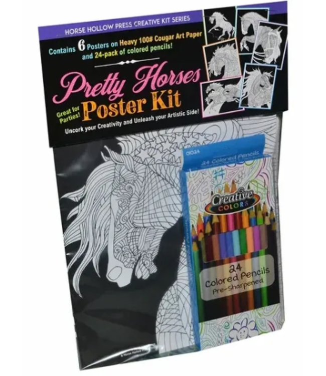 Horse Hollow Pretty Horses Poster Kit