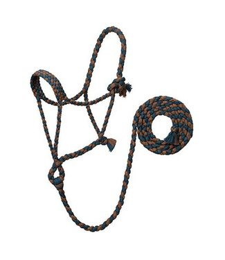Weaver Ecoluxe Braided Rope Halter w/ Lead