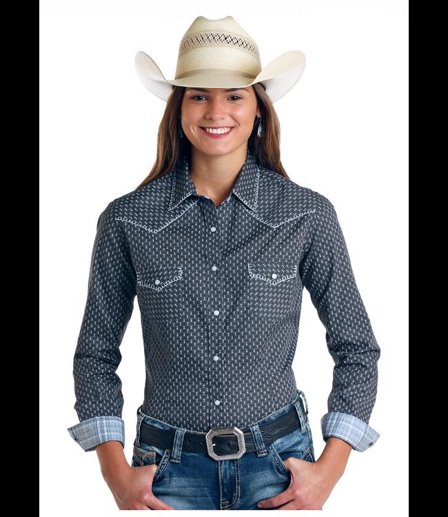 Panhandle Slim Ladies Osceola Vintage Print Shirt