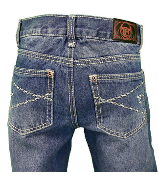 Cowboy Hardware Boy's Barbwire Medium Wash Jean