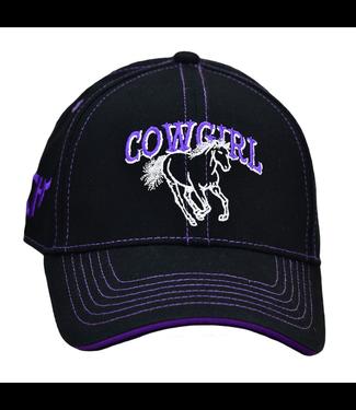 Cowboy Hardware Kid's Cap Cowgirl Horse