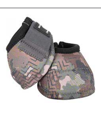 Classic Equine No Turn Bell Boot Camo Medium