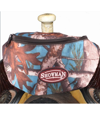 Showman Real Oak Insulated Nylon Saddle Pouch
