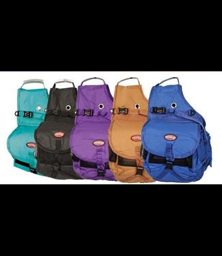 Showman Nylon Deluxe Saddle Bag