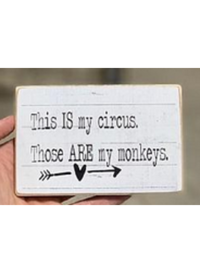 #2527 MAGNET This is my circus