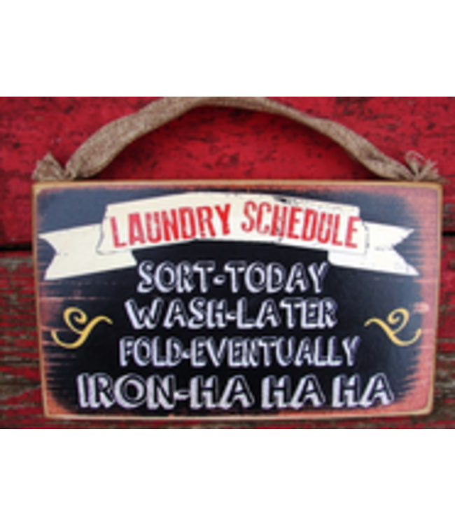#1154 Laundry Schedule